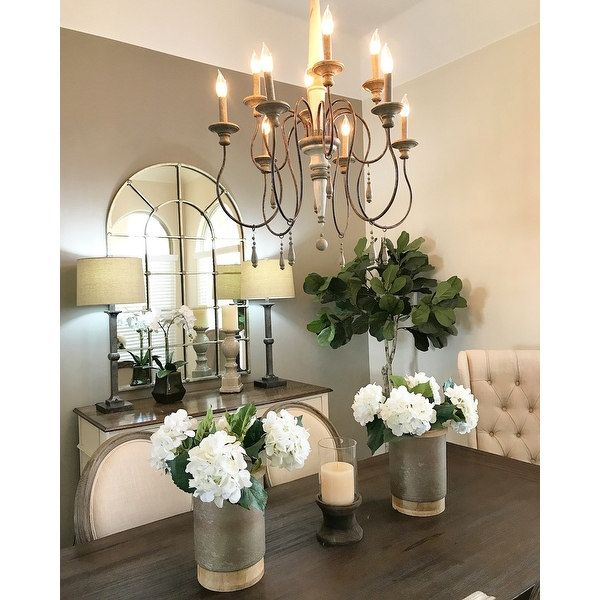 Top Product Reviews For Austin Allen Amp Company Zoe Collection 10 Light French Antique Chande