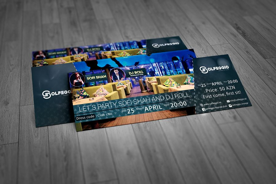 Event Ticket free Download PSD Mockup Pinterest Event ticket - how to design a ticket for an event