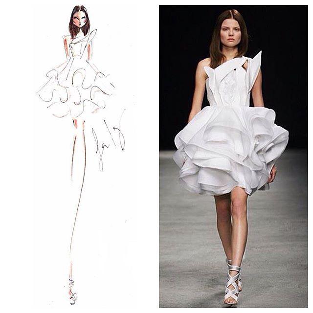 Givenchy sketch | Sketch Doodle | Fashion, Sketches ...