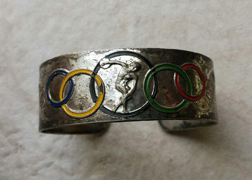 VINTAGE ORIGINAL 1932 Olympics bracelet Los Angeles