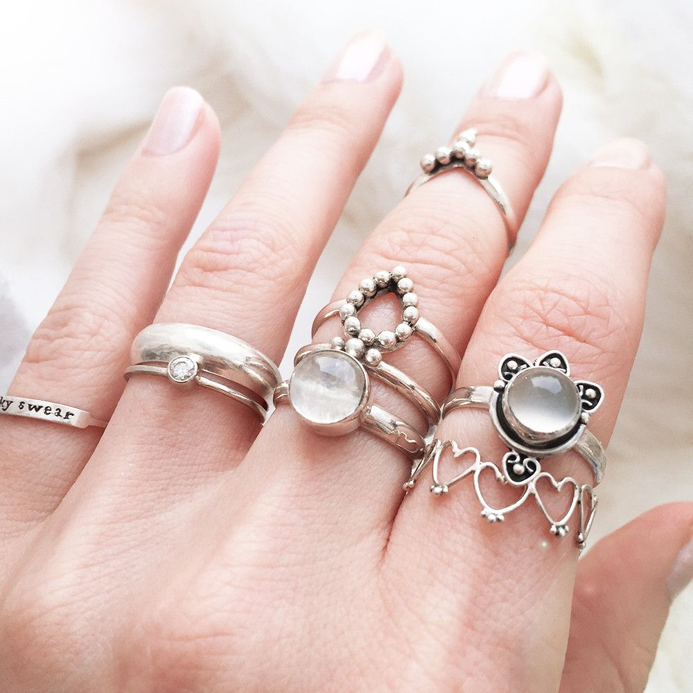 Lotus Milky Moonstone Ring | All About Me | Pinterest | Moonstones ...