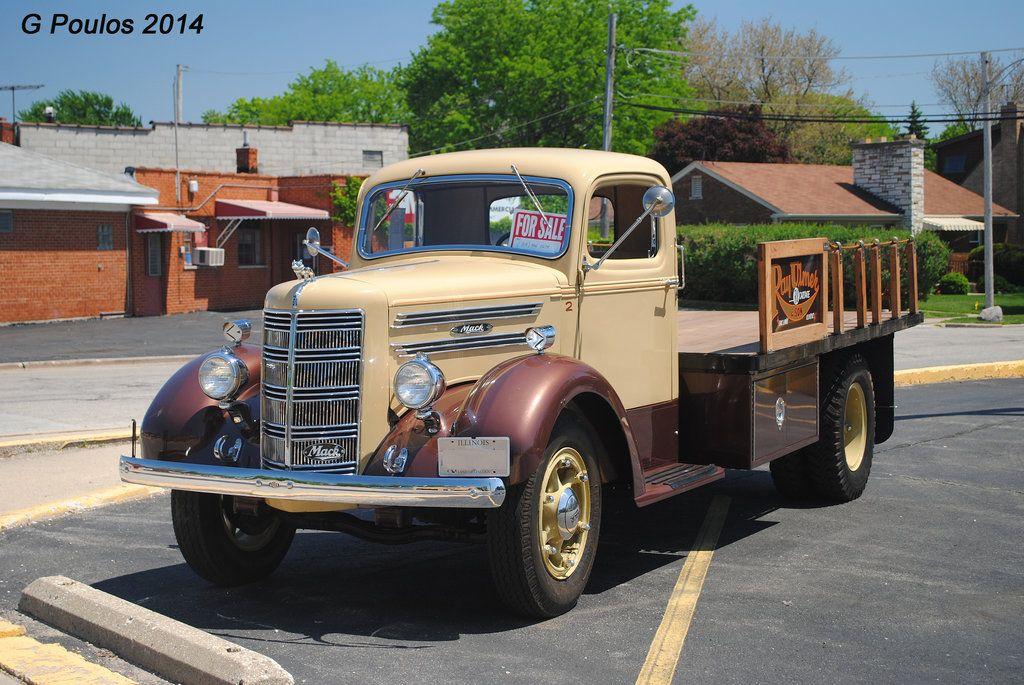 old mack trucks restored | Vintage Mack Truck 0110 52514 by ...