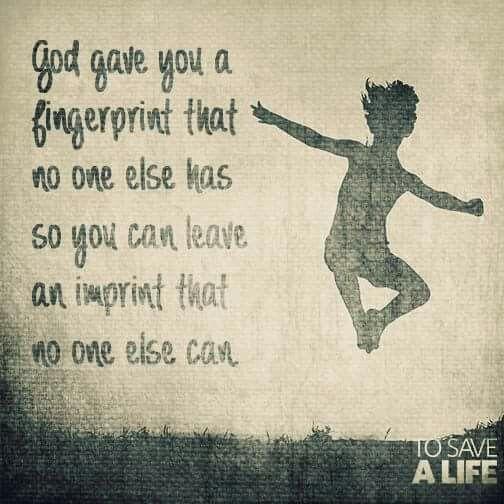 Fingerprints Quotes. QuotesGram |Leave Your Fingerprint Quotes