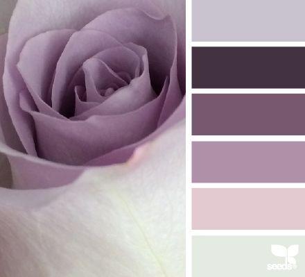 Mauve & Grey #trendybedroom