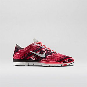 nike free 5.0 tr fit 4 nordic print pumps