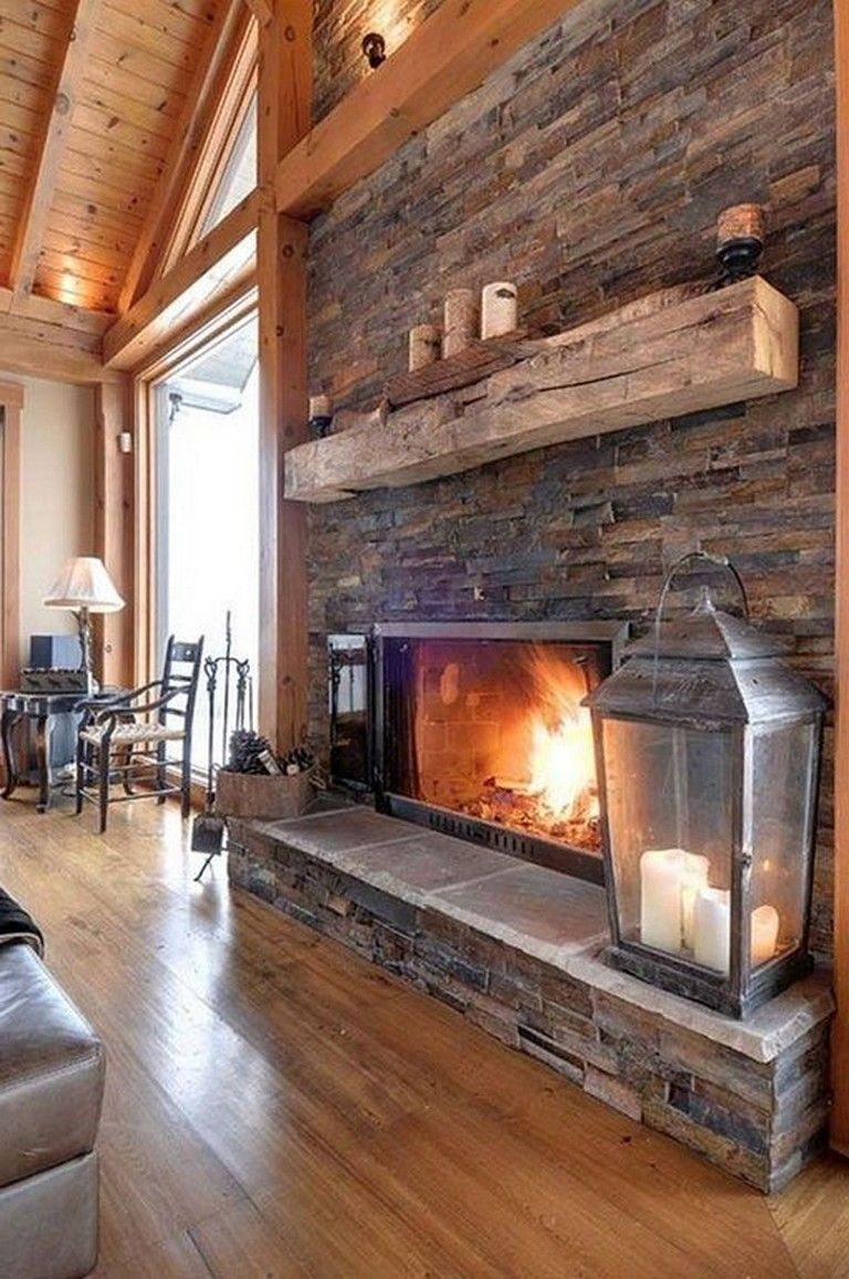 22 Awesome Farmhouse Brick Fireplace Design And Decor Ideas