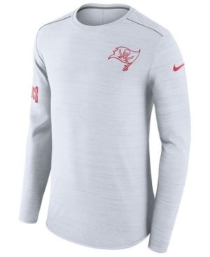 5cd9b0584 Nike Men s Tampa Bay Buccaneers Color Rush Player Top Long Sleeve T-Shirt -  White XL