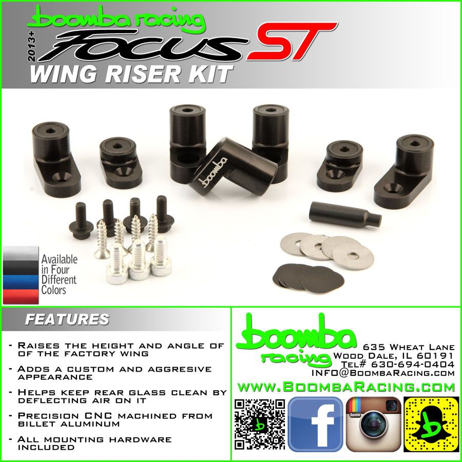 Focus St Rs Wing Risers Ford Focus St Cool Things To Buy Riser