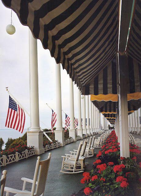 The Grand Hotel, Mackinaw Island MI