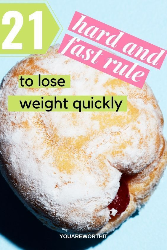 Weight Loss Plans At Home 21 hard and fast rules to lose weight quickly | weight loss hacks for wome...