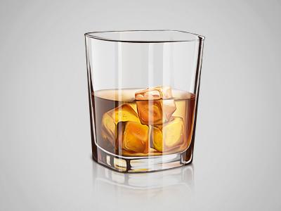 Dribbble Whiskey By Ilie Ciorba Raznoe Ikonki Risovat