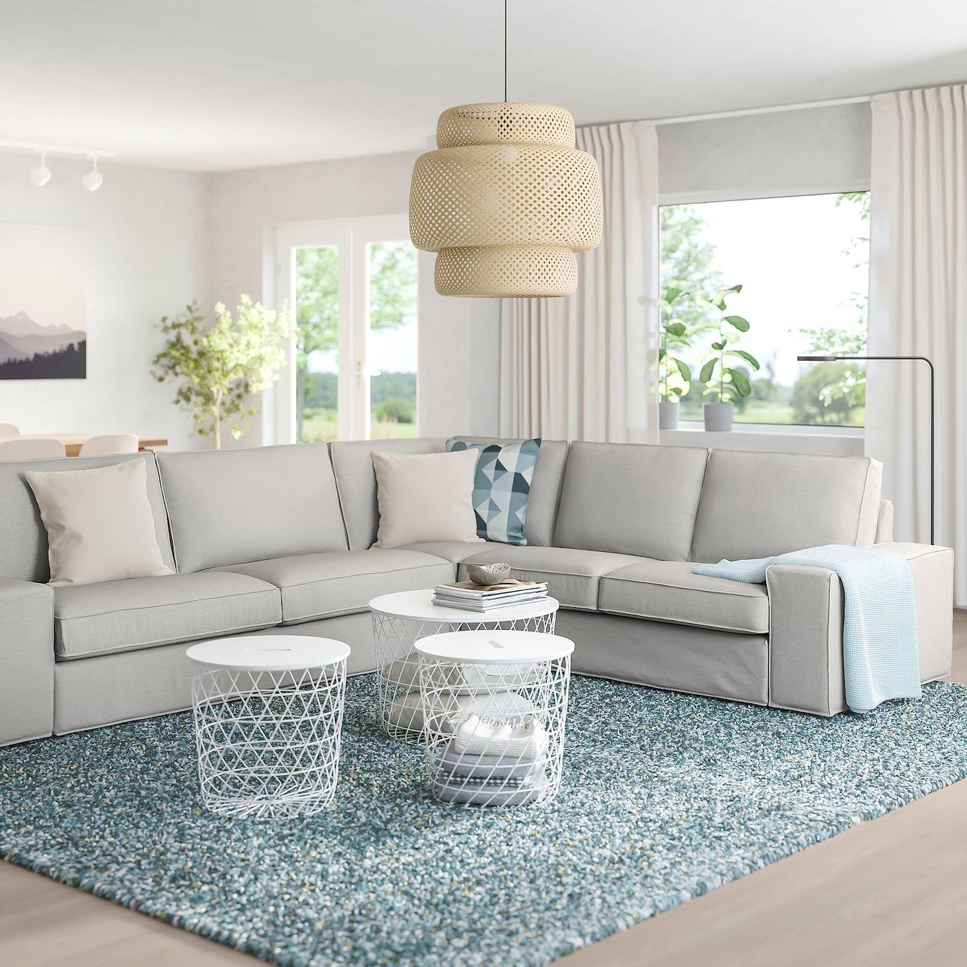Ikea Kivik Ecksofa 5 Sitzig Orrsta Hellgrau In 2020 3er Sofa Sofa Bequemes Sofa