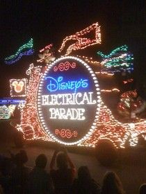 The Electrical Parade at the Magic Kingdom #Disney
