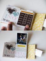 tutorial mini album w project life cards