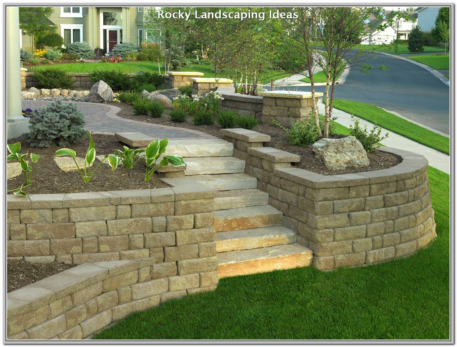 Create A Perfect Yard With These Tips Landscaping Lovers Landscaping Retaining Walls Backyard Retaining Walls Retaining Wall Design