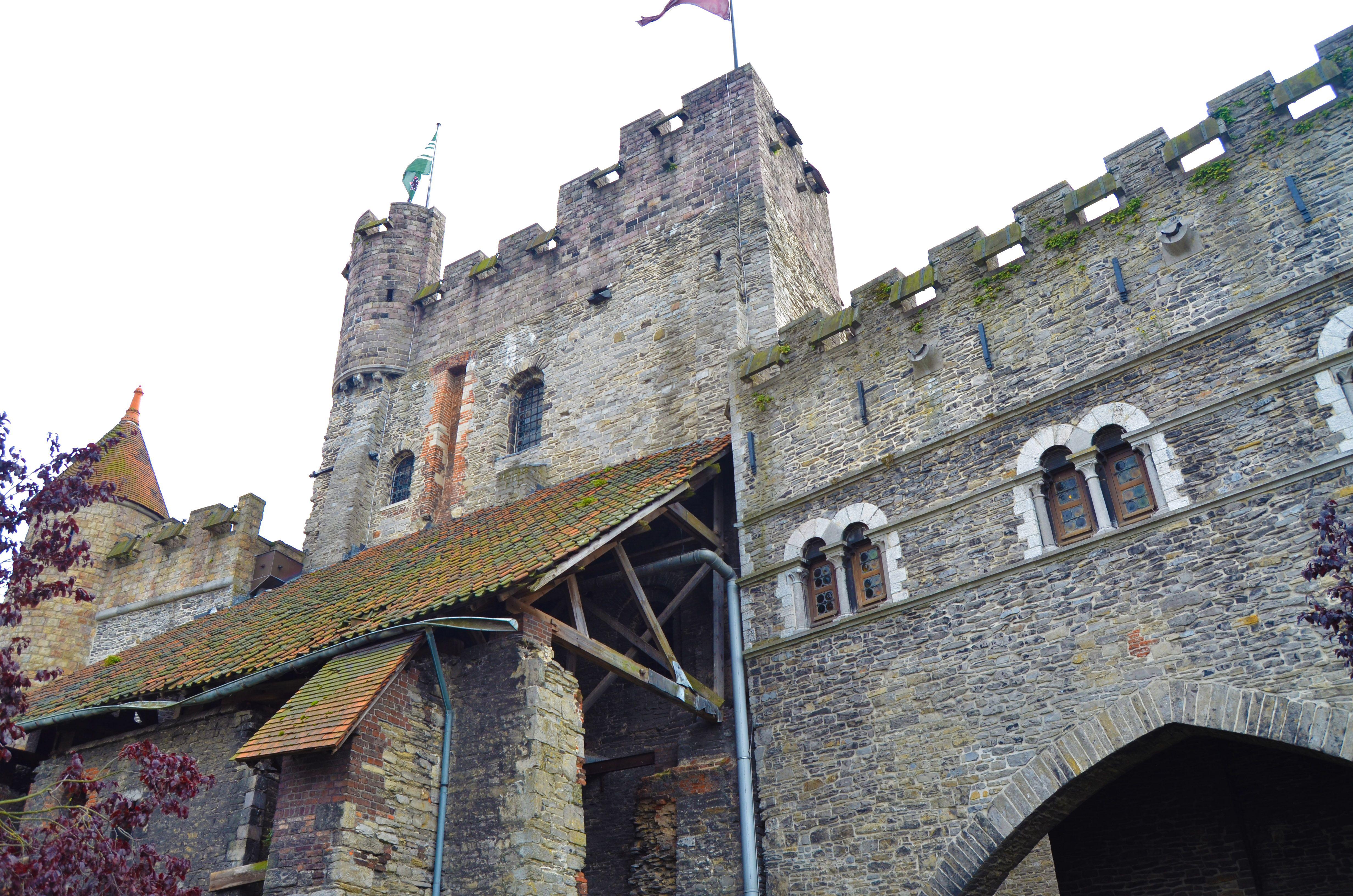 Castillo de los Condes de Flandes, Gante