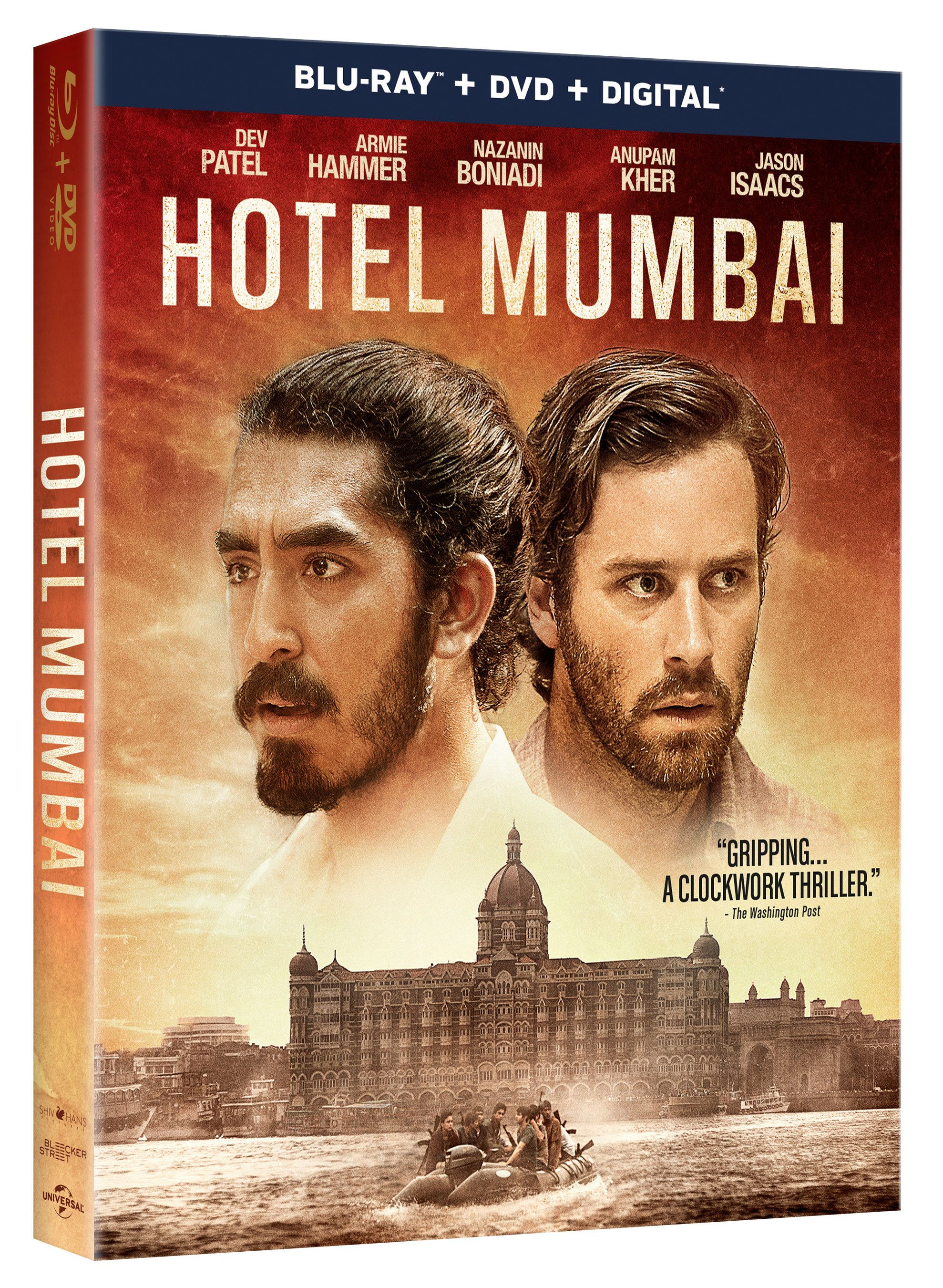 Blu Ray And Dvd Date For Hotel Mumbai 2018 With Images Blu