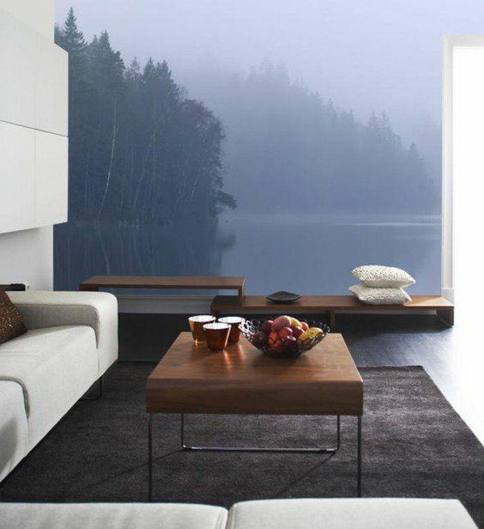 1001 mod les de papier peint 3d originaux et modernes mur 3d papier peint pinterest. Black Bedroom Furniture Sets. Home Design Ideas