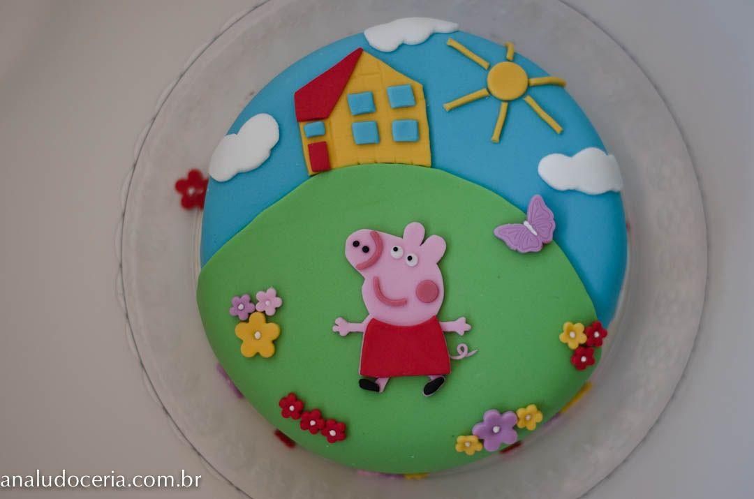 Cada bolo Peppa Pig bonito e divertido não é mesmo! Se divirta com as  ideias!