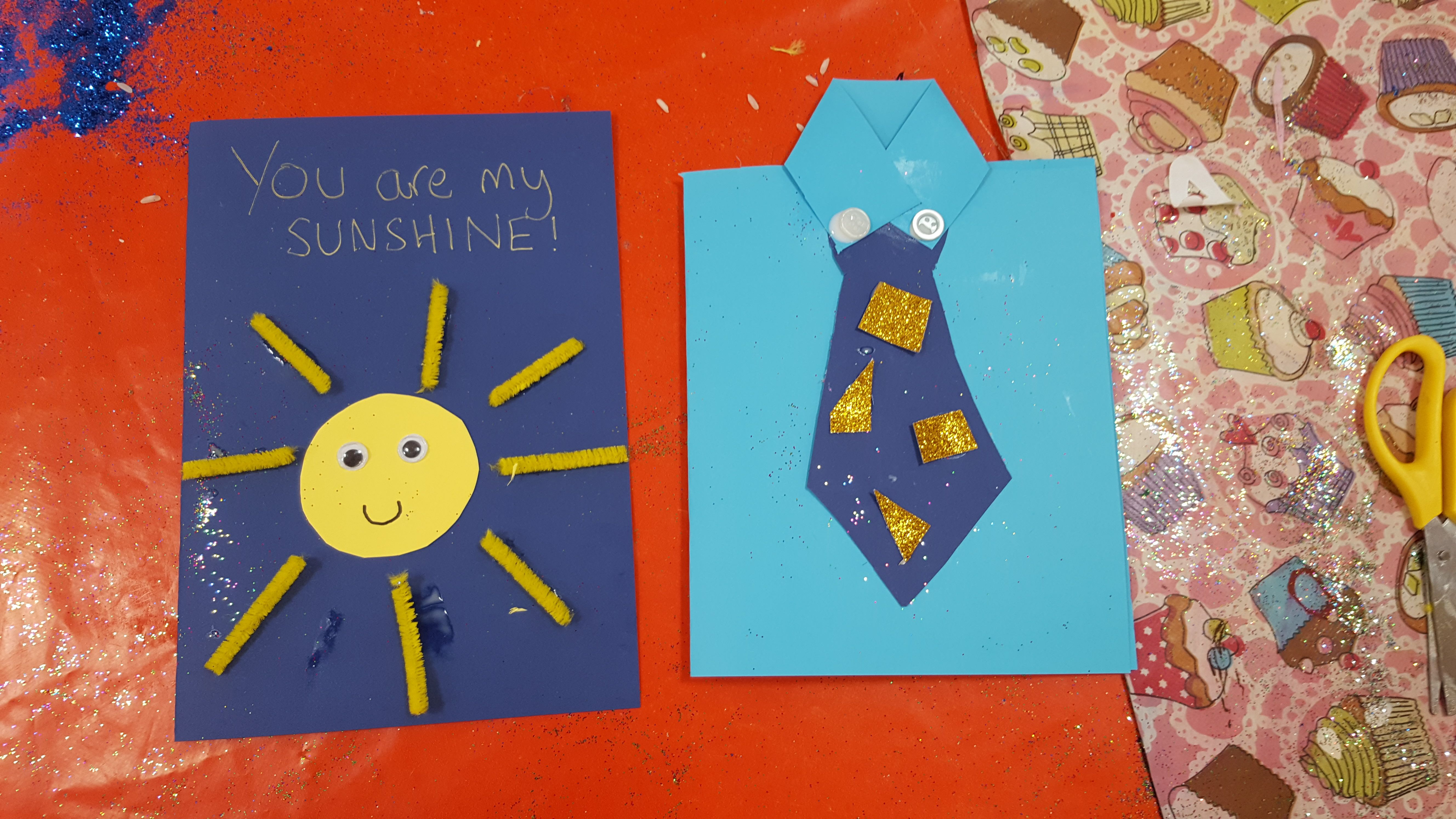 Fathers day cards for children to make fathers day