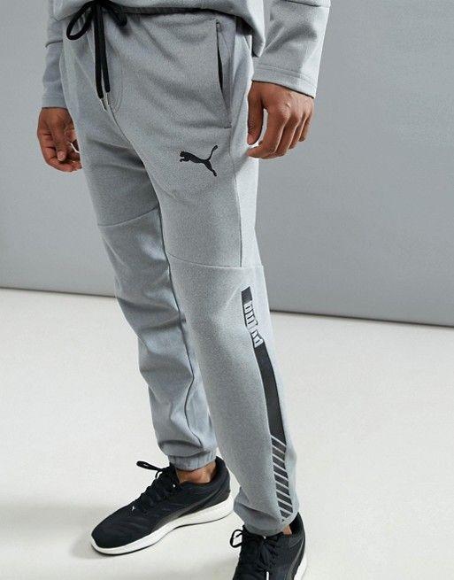 Puma Running Future Tech Fleece sweatpants In Gray