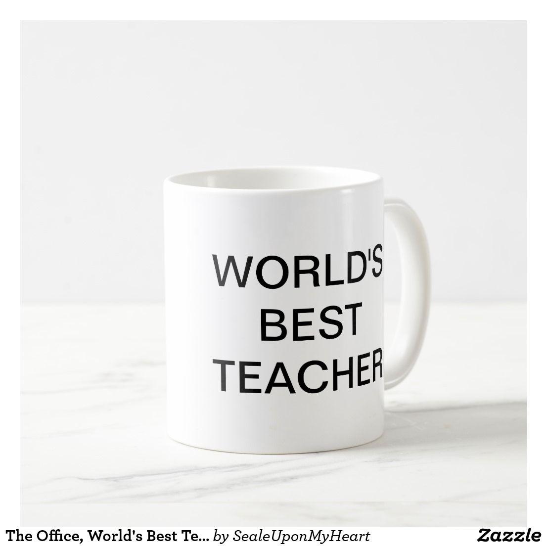 The Office World S Best Teacher Coffee Mug Zazzle Com The