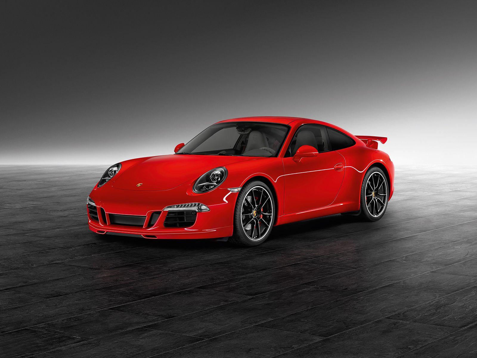 Red 911 Carrera S