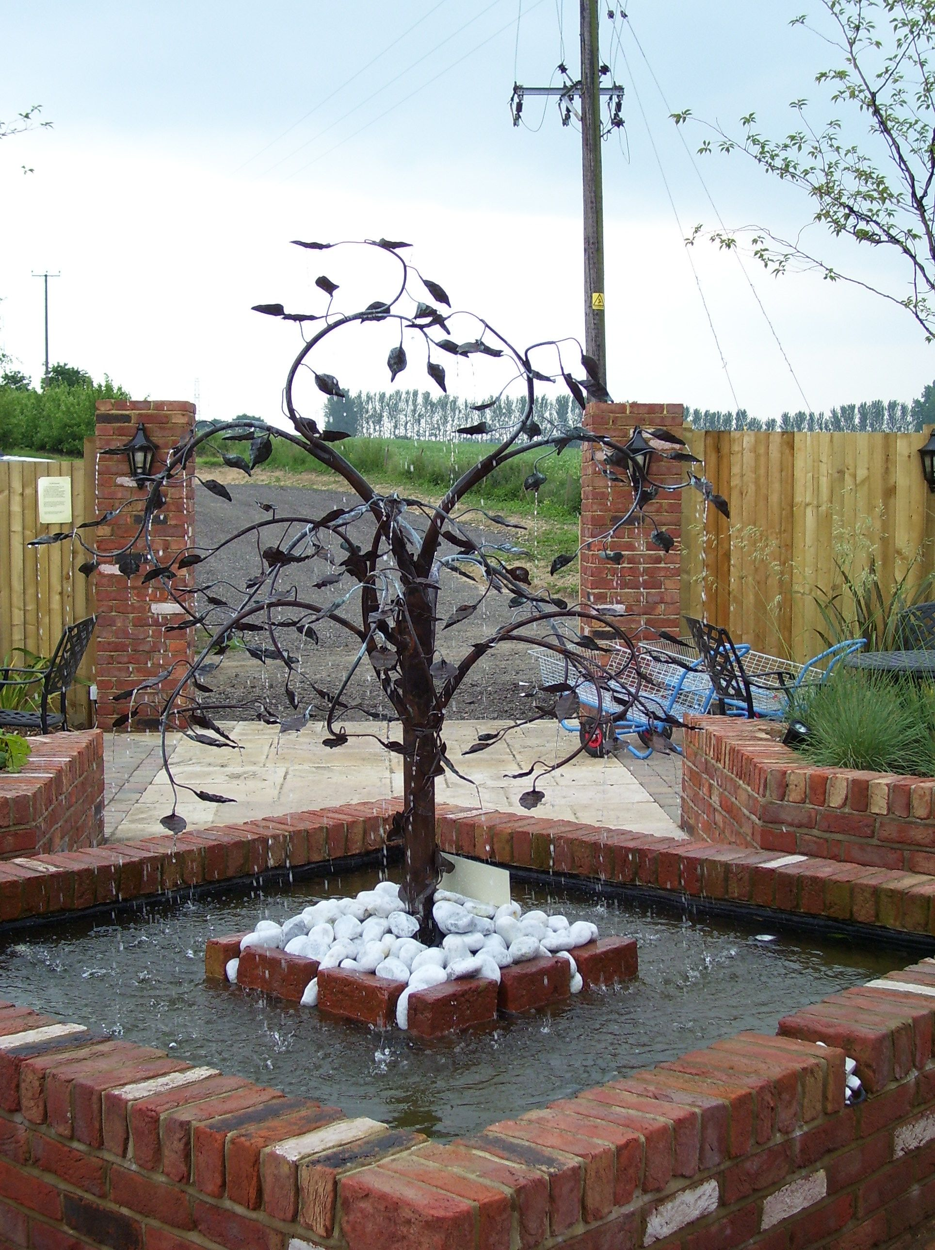copper tree water feature search Tree Water Feature id=13814