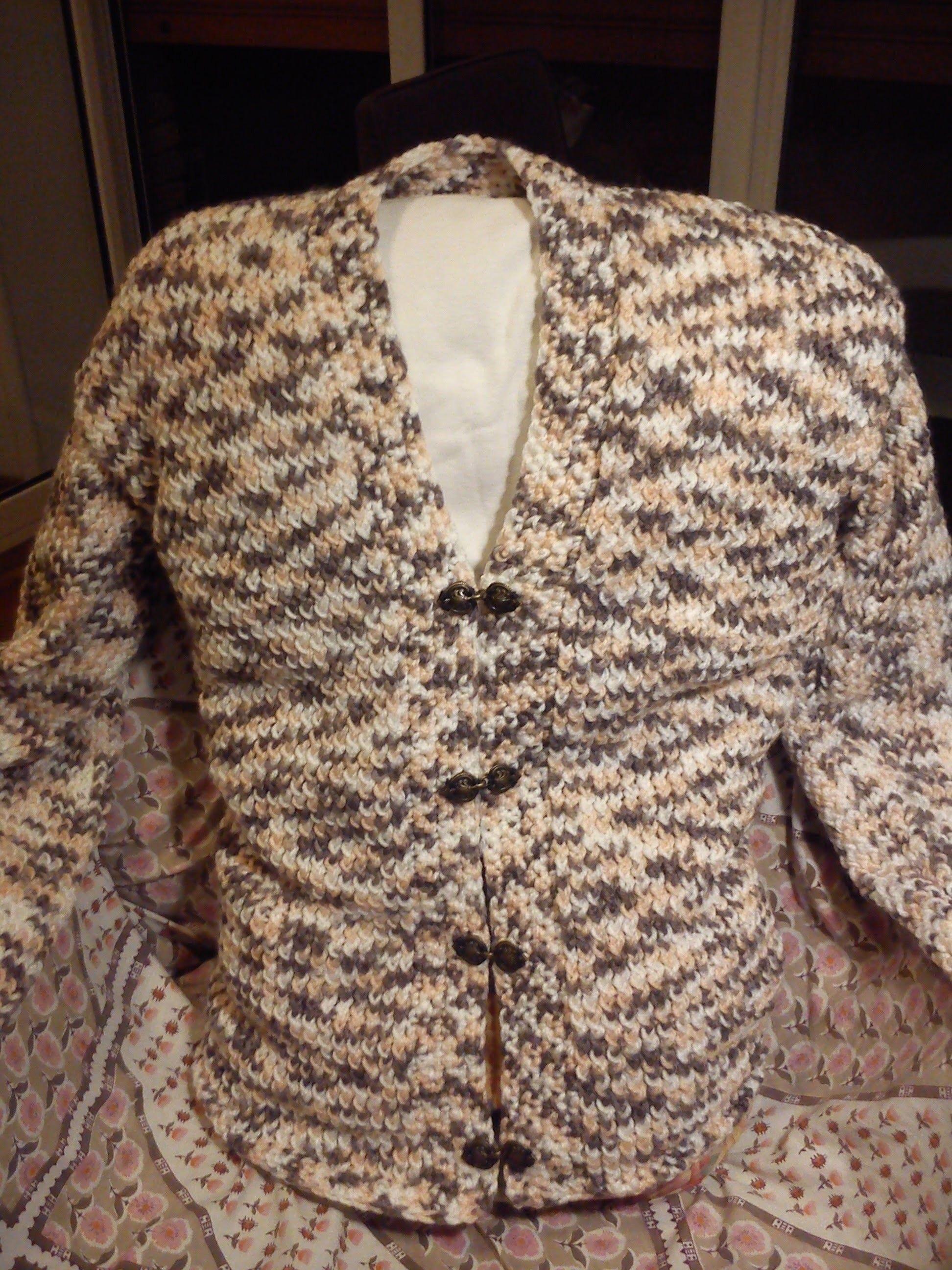 Women\'s V-neck Cardigan Loom Knitting | Loom knitting, Yarns and Crochet