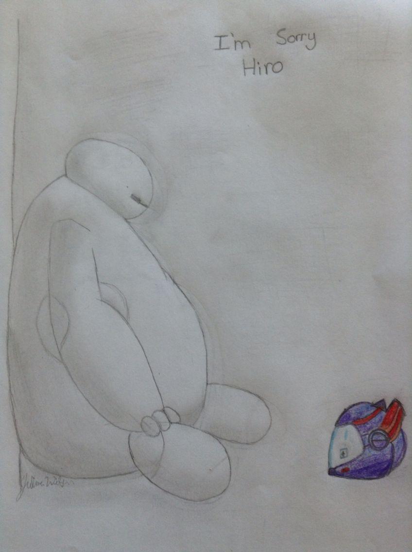 My drawing of baymax