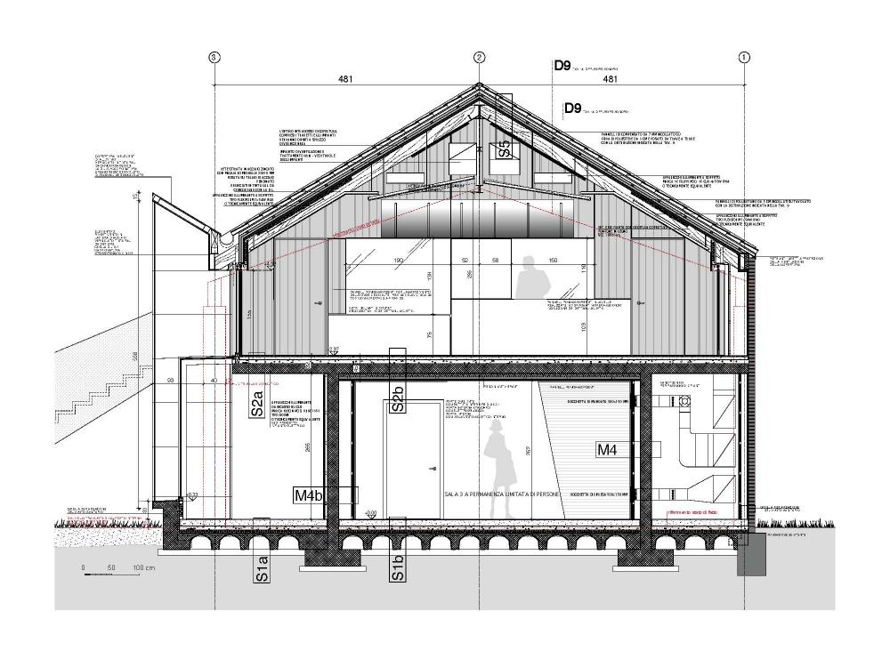 Gallery of la casa della musica geza gri e zucchi for Case arredate da architetti