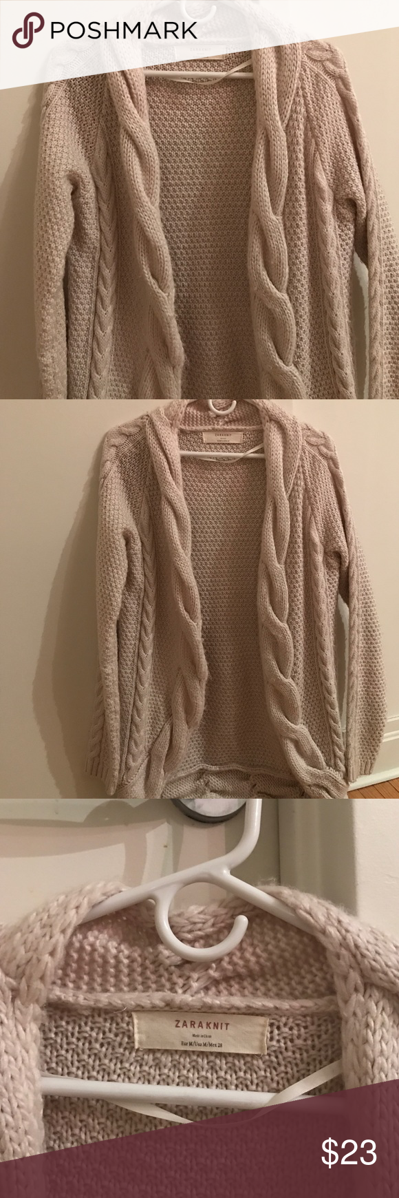 Zara Knit Open Sweater | Ea, Customer support and Delivery