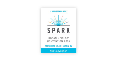 Headed to Austin, TX in September!  I always have a wonderful time when 8,000 R+F Consultants gather in one place!!
