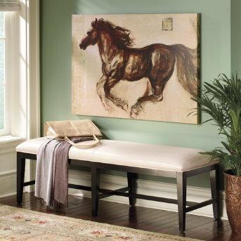 Wall Art Horses art/wall decor - etalon indoor wall art - grandin road - horse