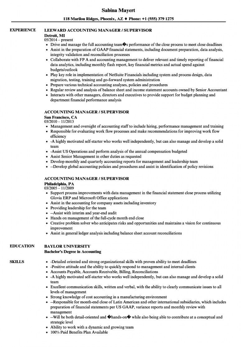 Browse Our Image Of Accounting Manager Job Description Template For Free Job Description Template Resume Examples Biotechnology Jobs