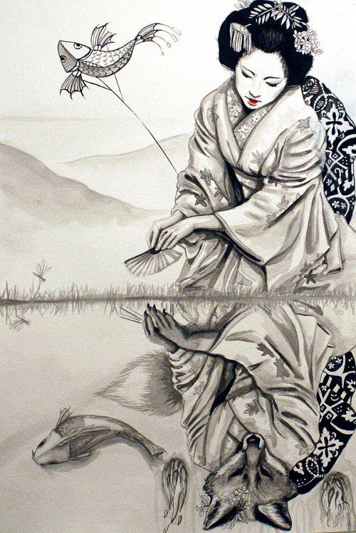The Fox Woman by Sara Guidry.