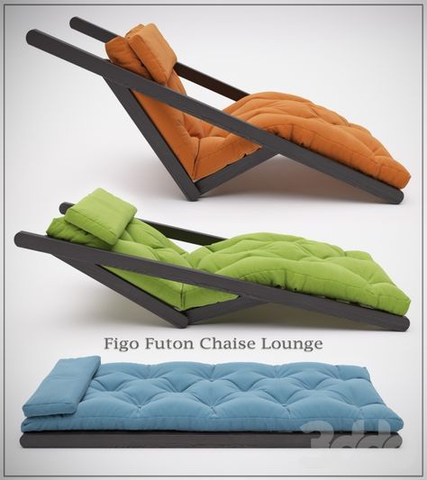 Model Other Furniture Figo Futon Chaise Lounge
