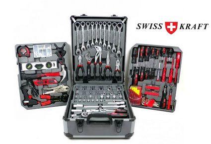 swiss craft verktygslåda 256 delar