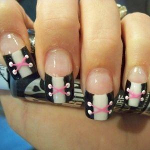 Simple Fingernail Art Simple And Cool Nail Art Ideas 2011 Nail