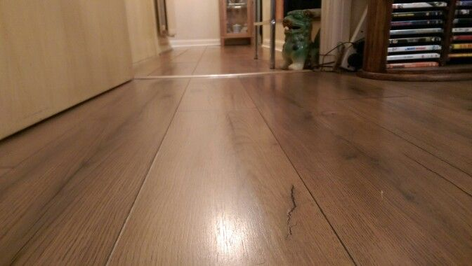 Light Clean Of Laminate Floorboards To Remove Brick Dust After Home - Cleaning dust after tile removal