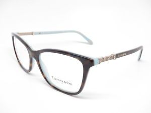 43ab8958016c Brand   Tiffany   Co Model Number   TF 2116-B Color Code   8134 Frame Color    Havana   Blue Lens Color   Clear (Demo lenses