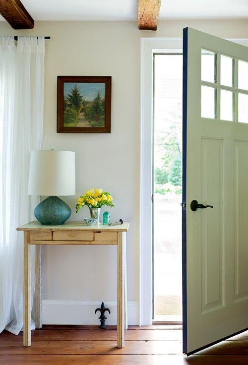 No Foyer No Problem Tips Tricks For Faking It Small Hallway