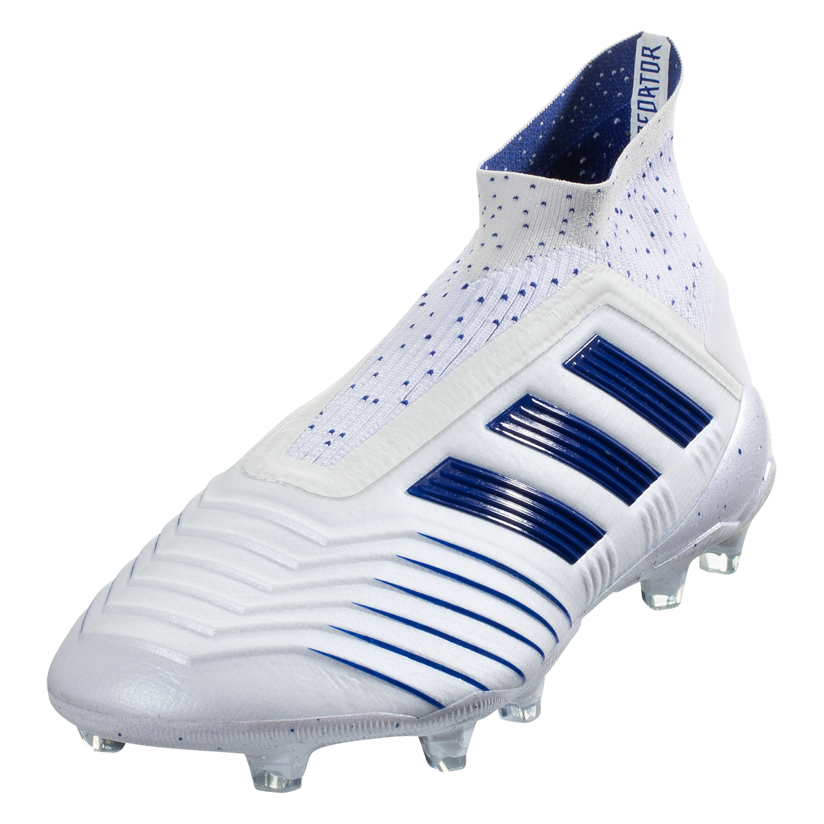 FG Firm Ground Soccer Cleat White/Blue