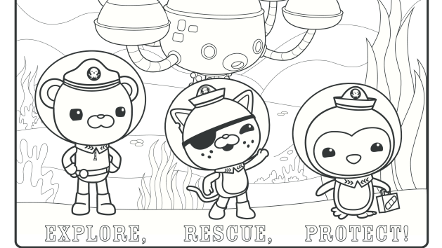 Explore Rescue Protect And Color Coloring Pages Super Coloring Pages Printable Coloring Pages