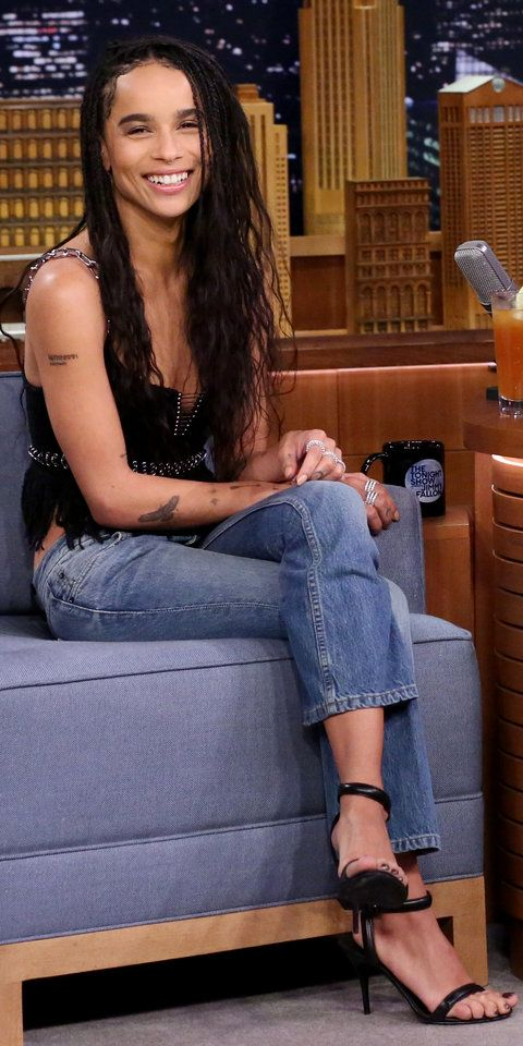 8 Badass Style Lessons You Can Learn from Zoe Kravitz #zoekravitzstyle