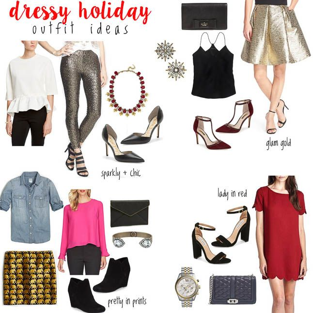 Dressy Holiday Outfit Ideas | adoubledose.com