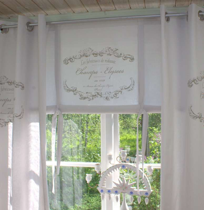 Vorhang Elegance Weiss Osen Gardine 120x240 Cm 2 Stuck Baumwolle Landhaus Vintage Gardinen Gardinen Landhausstil Landhausstil