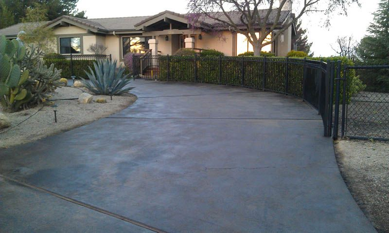 Stained Concrete Driveway Sidewalks Google Search