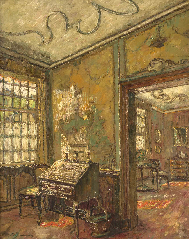 Scheibler Haus, August Von Brandis, German Impressionism, Impressionismus  Deutschland, Monschau,
