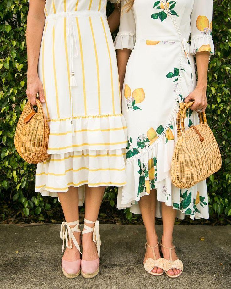 5d05e2e44ea5 Lemon Print Dress, Modest Dresses, Summer Dresses, Midi Dresses, Dress